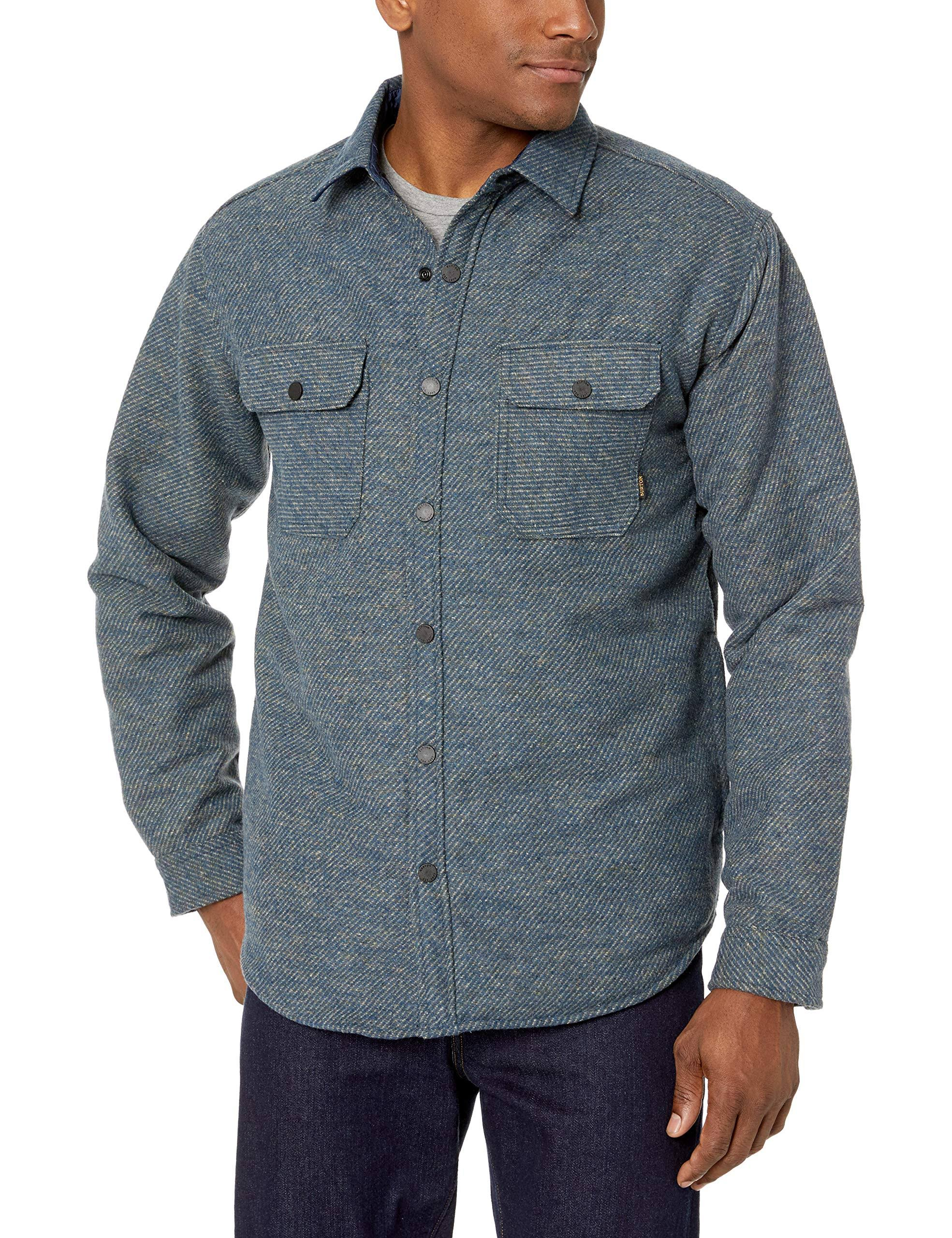 Burton Flannel Brighton Twill Indigo Men's Insulated Mood PwrFCqP8