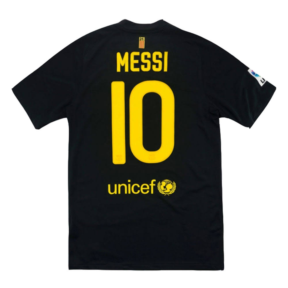 2011-12 Barcelona Nike Away Shirt (Messi 10) (Excellent)