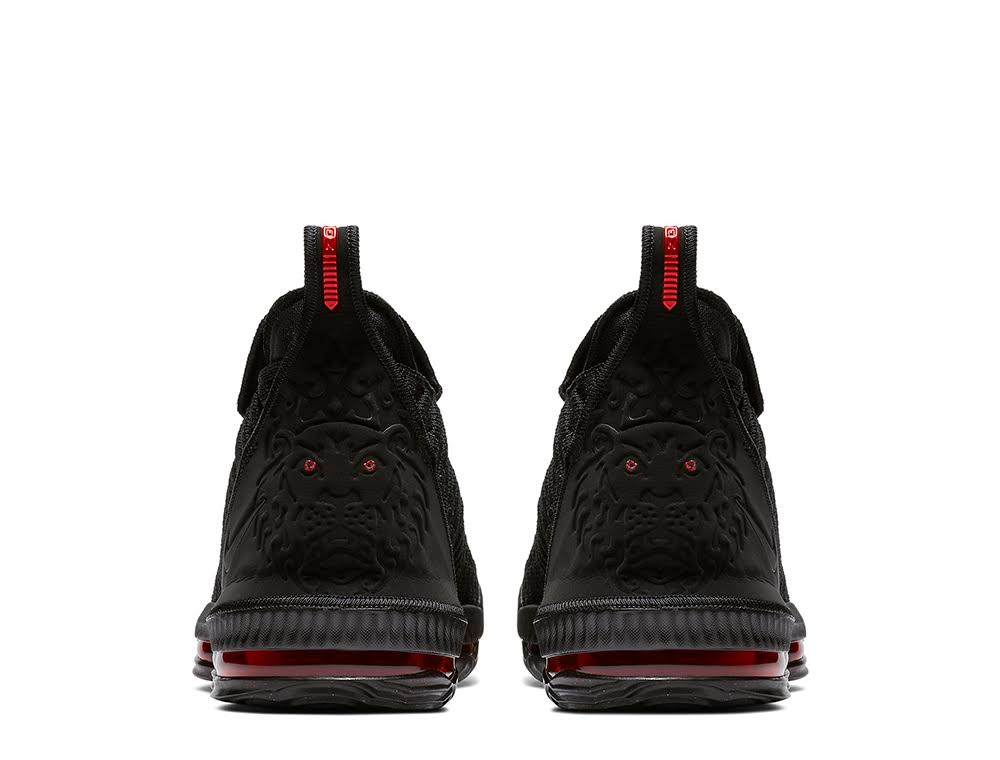 16 Fresh Universitario Negro Hombre Nike Lebron Para Rojo negro Bred qEwv5xwR