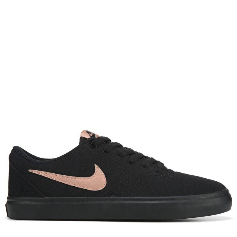 M check Nike voor 0 dames sb canvasschoenen dameszwartgoudmaat 10 vnOmN80w