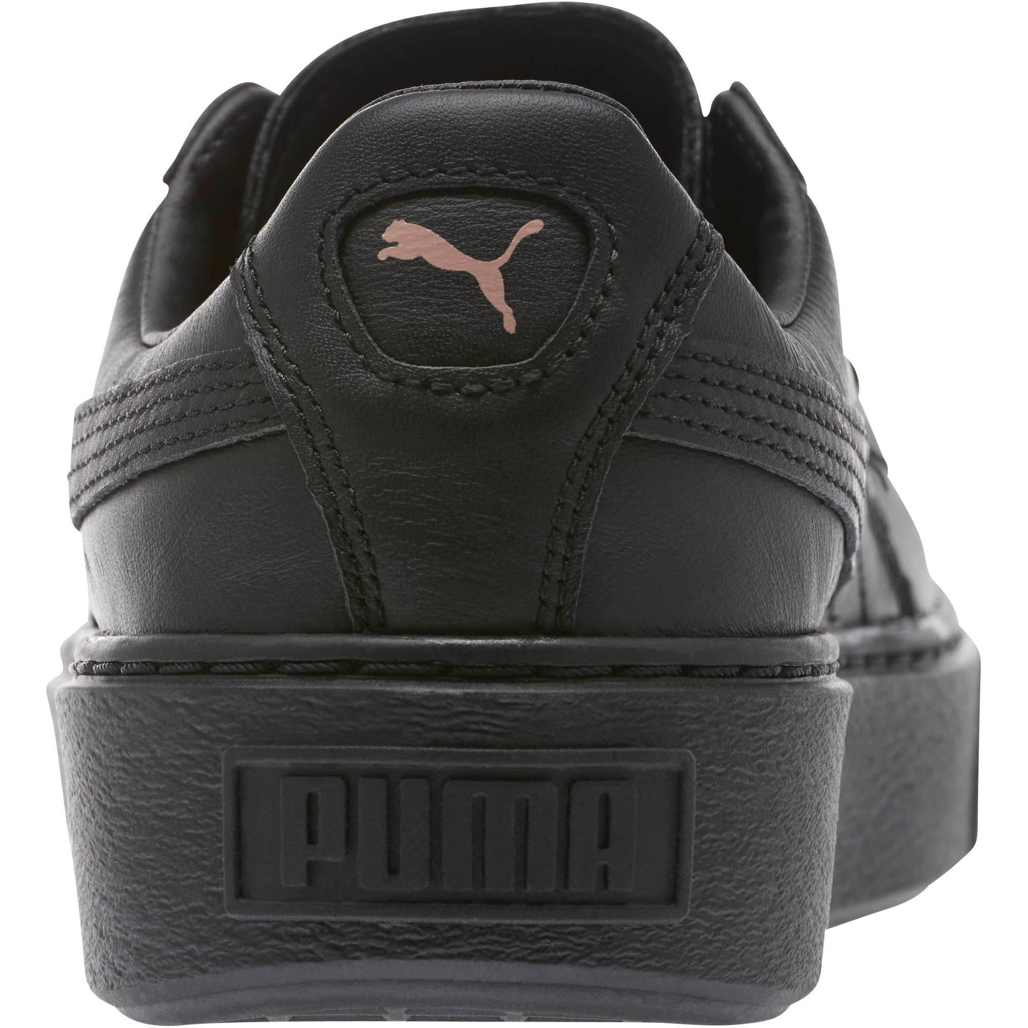 Damenschuhe Platform 36616902001 Basket Puma Schwarz Und Größe Rotgold 8 Rqvzx6Pn