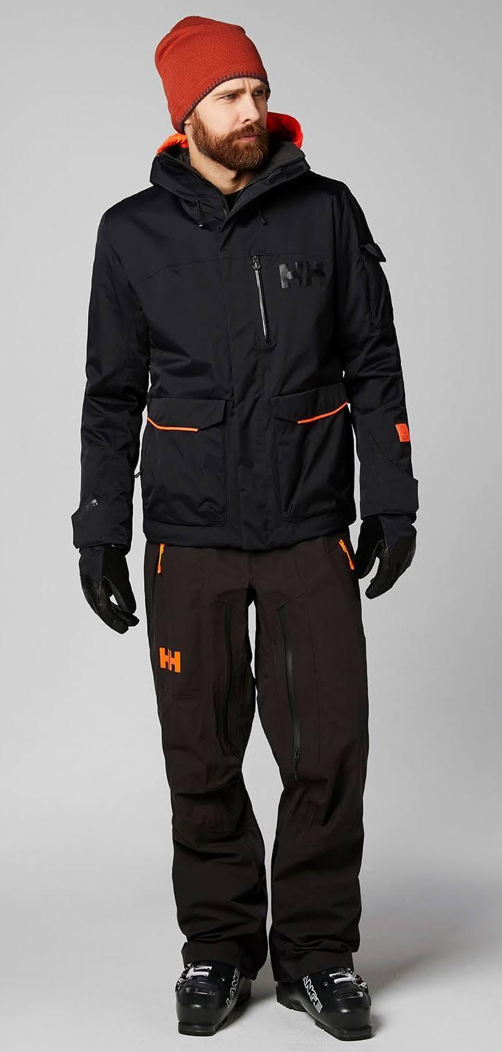 Chaqueta De Snowboard Helly Fernie 0 Negro Esquí Xl Hansen 2 rrPqwBdOx