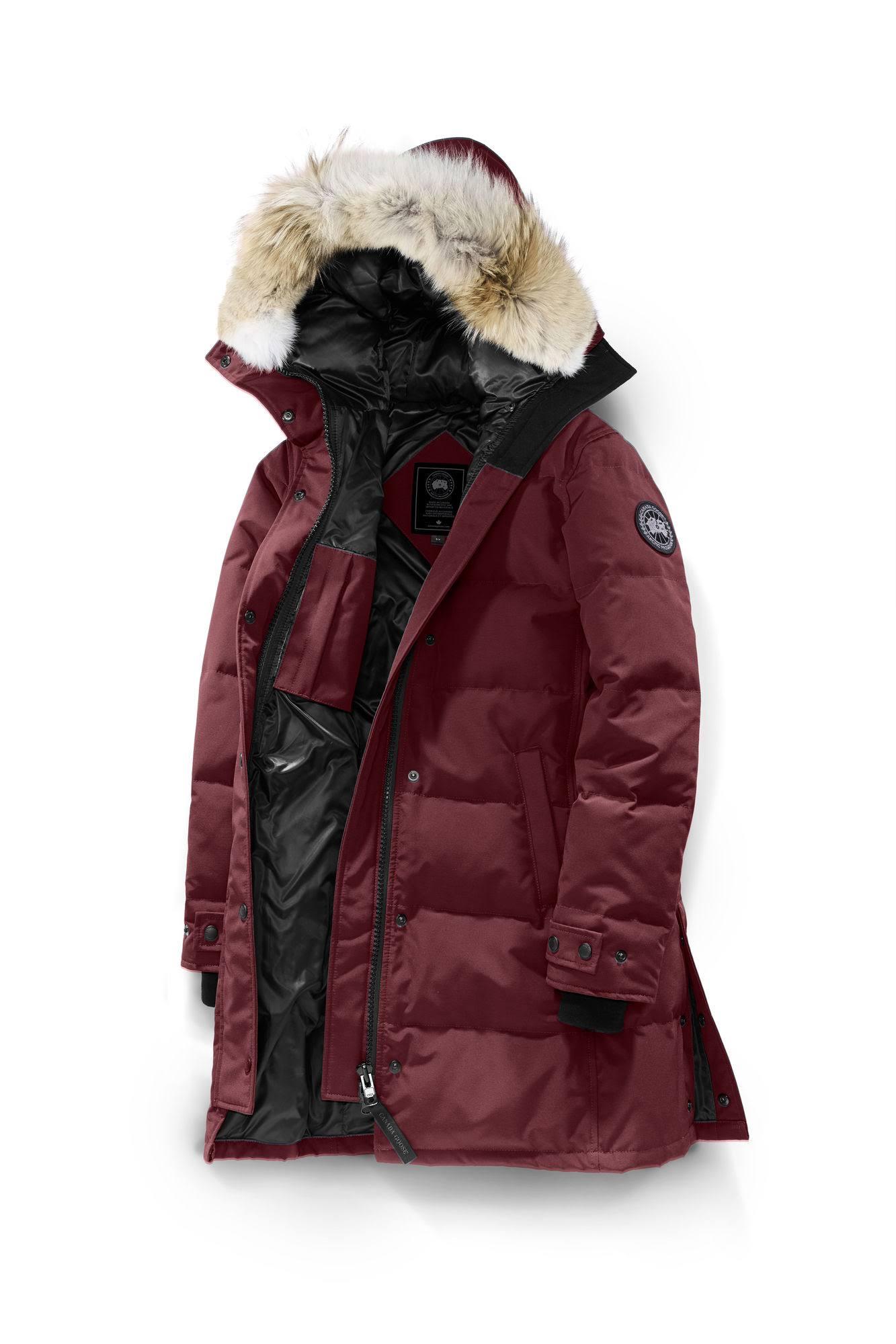 Goose Bordeaux Parka Shelburne Black Xs Canada Bordeaux mujeres Label 1HRxwwq