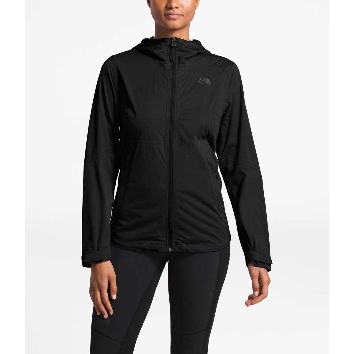 Elástica Tnf The Face Negro Mujer M Para Allproof Chaqueta North qaUIXwUF