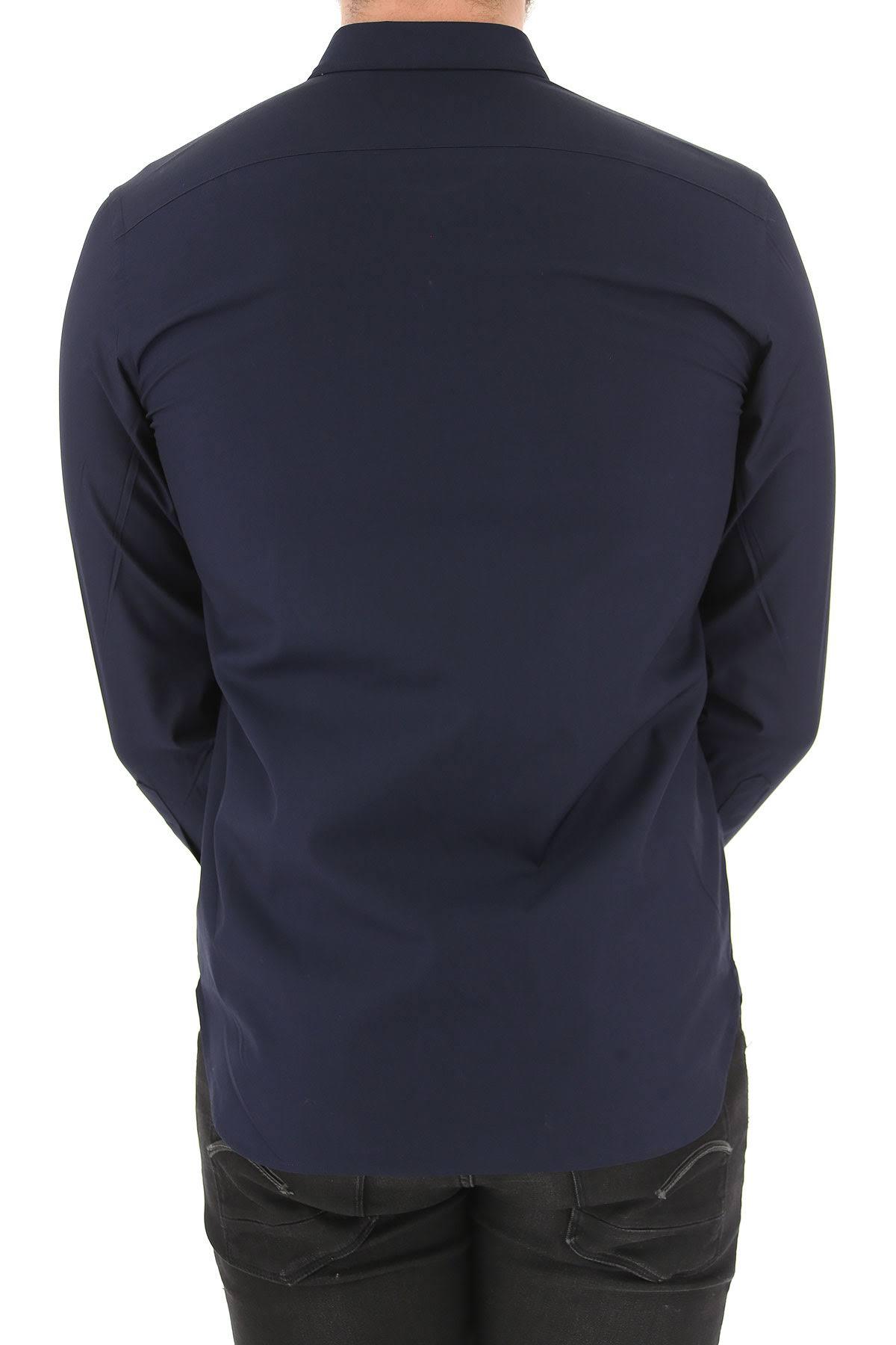 Shirt Baumwolle Navy L Für S 2019 Männer Burberry M nIwdZI