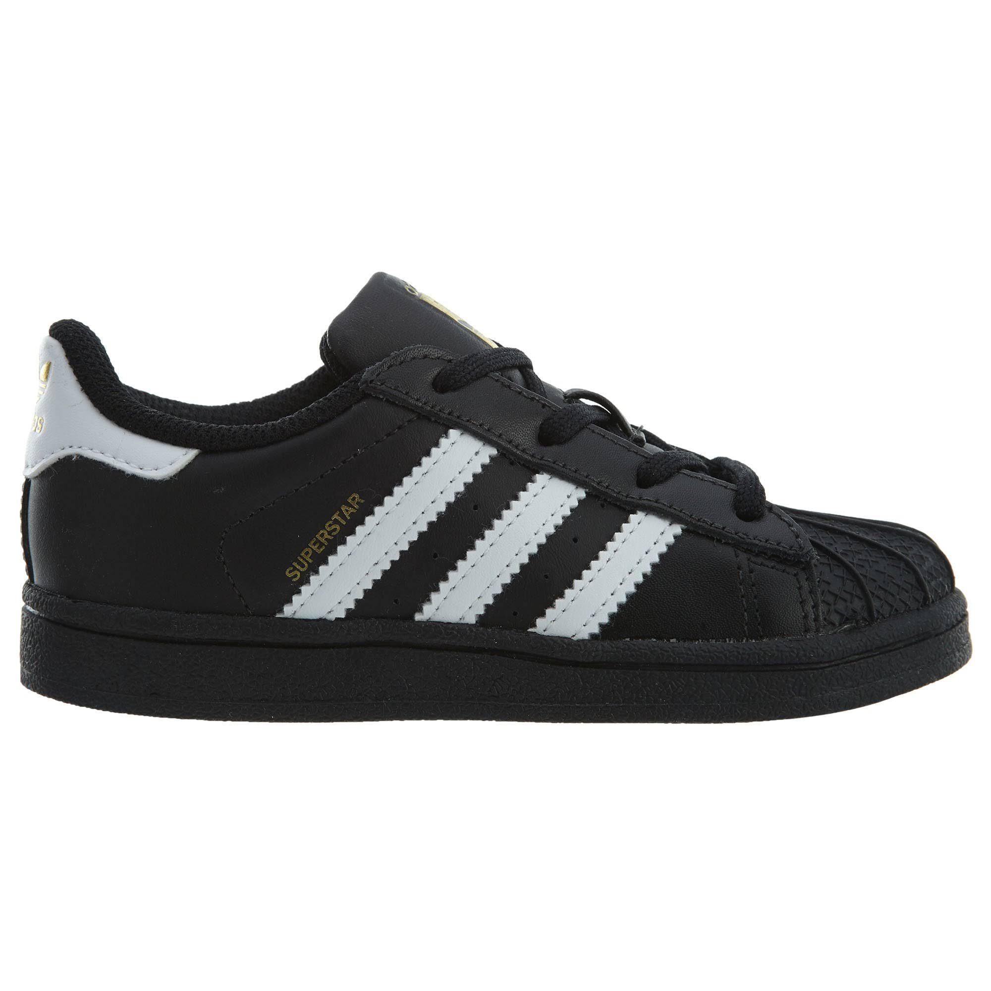SuperstarNeroBianco bianco Toddler Scarpe Adidas Originals 2EHID9W