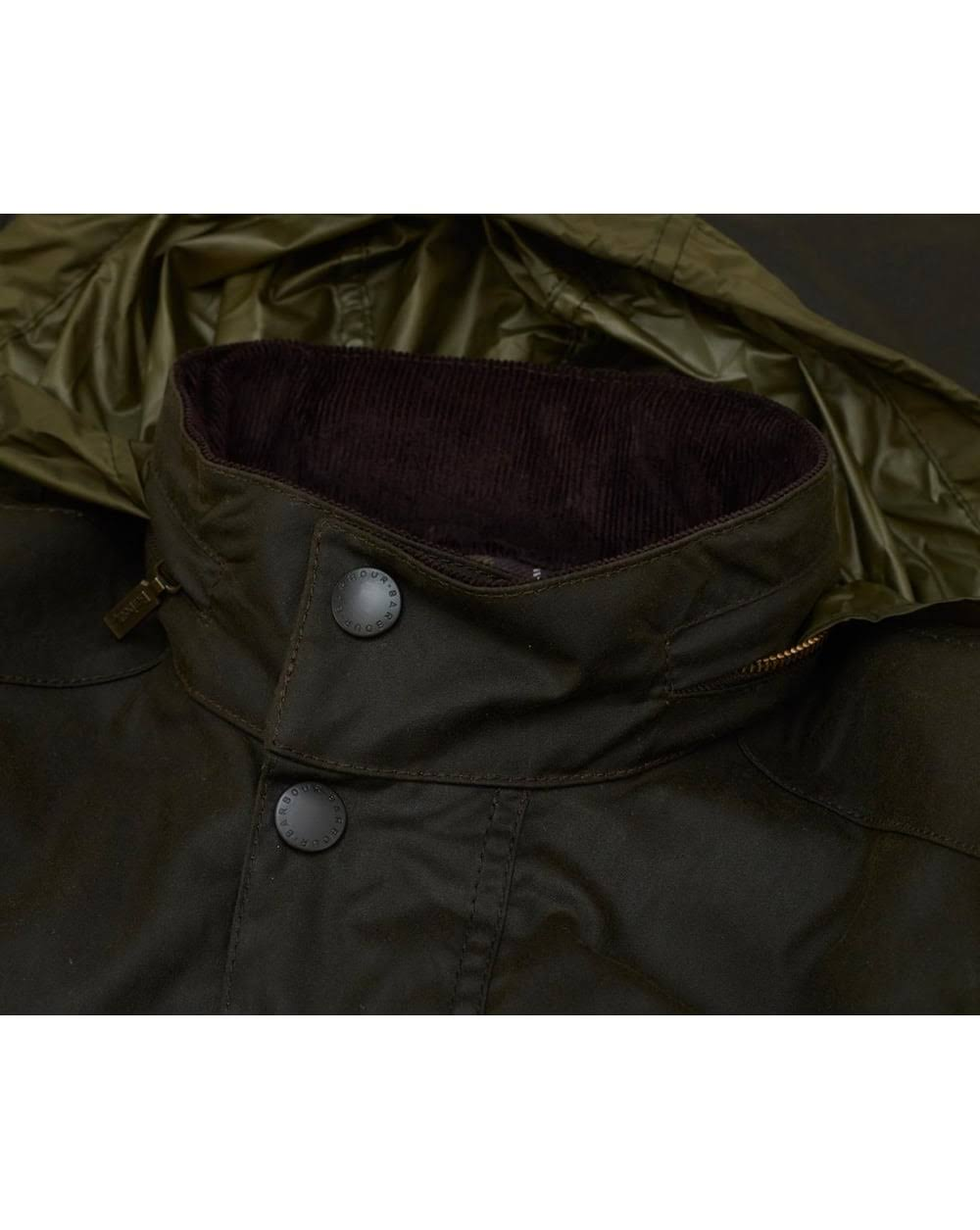 Barbour Wax Small Jacket Corbridge Olive Farbe Größe pwrqZ6pan