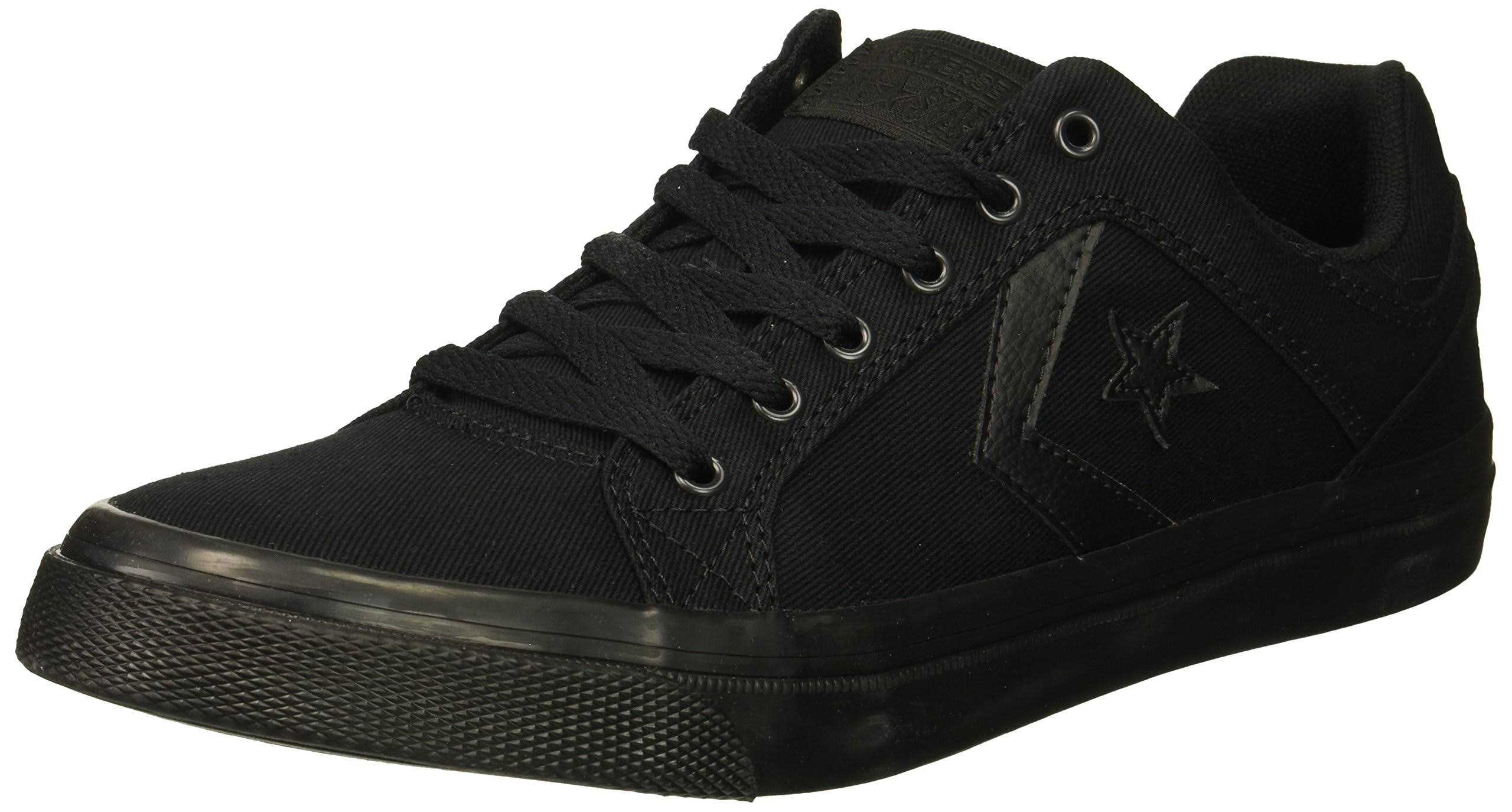 black Distrito Canvas Cons Shoes El Black Converse Mens Sneakers BUpq44
