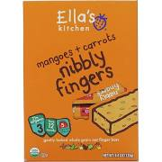 Ella's Kitchen Stage 3 Mangoes & Carrots Nibly Fingers