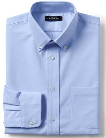 Para 'end Lands Escolar Larga Manga Oxford De Uniforme Blue L Hombre qwFfBC8x