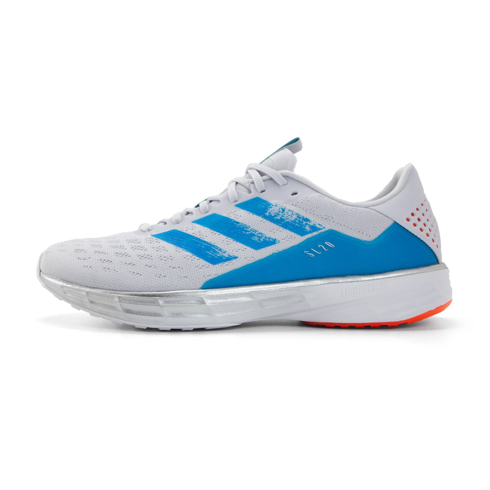 Adidas SL20 Primeblue Dash Grey Sharp Blue True Orange