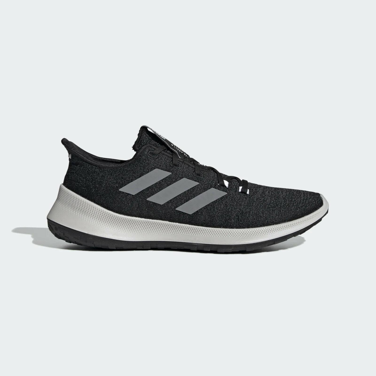 Adidas Sensebounce Mens Running Shoes - Black/White