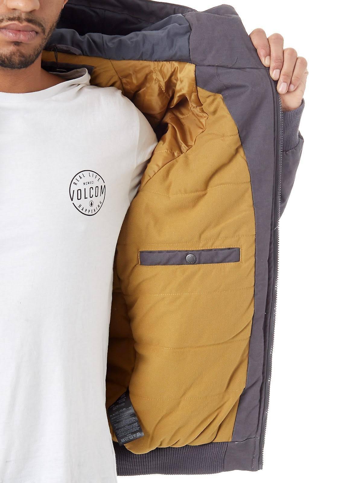 Jacket Coaster Large Asphalt Volcom Schwarz Hernan Grau Black 4qZqBw