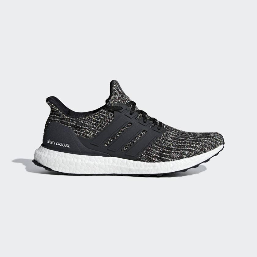 Ultra Boost - Mens Running Shoes - Core Black 9.5 UK