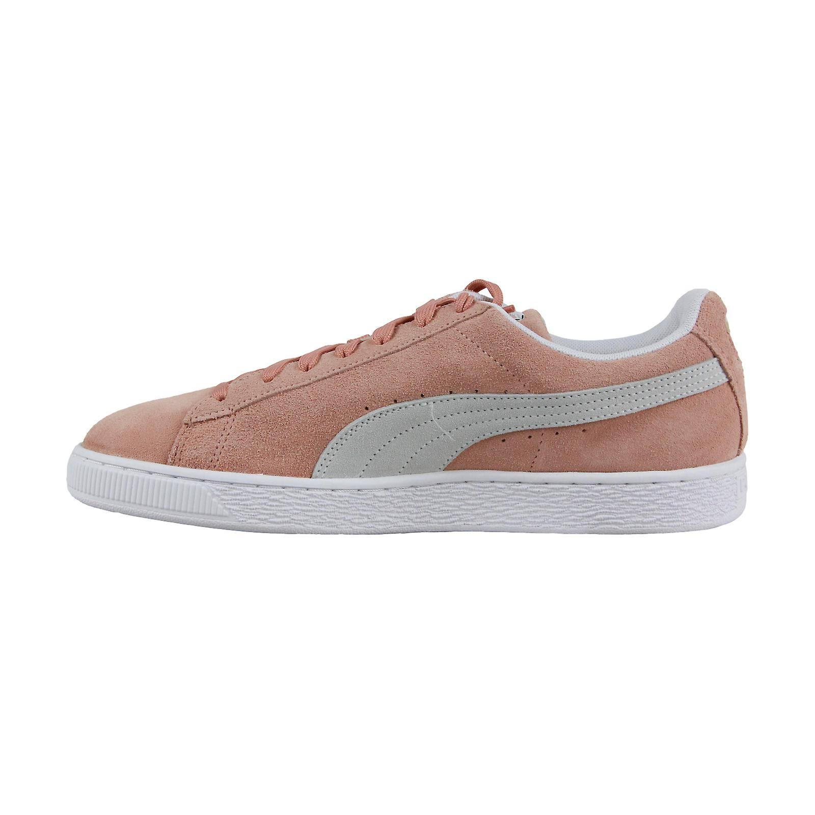 Pink Suede ClaClay Up White Puma Heren Lace Sneakers Muted Classic Schoenen hdstQr