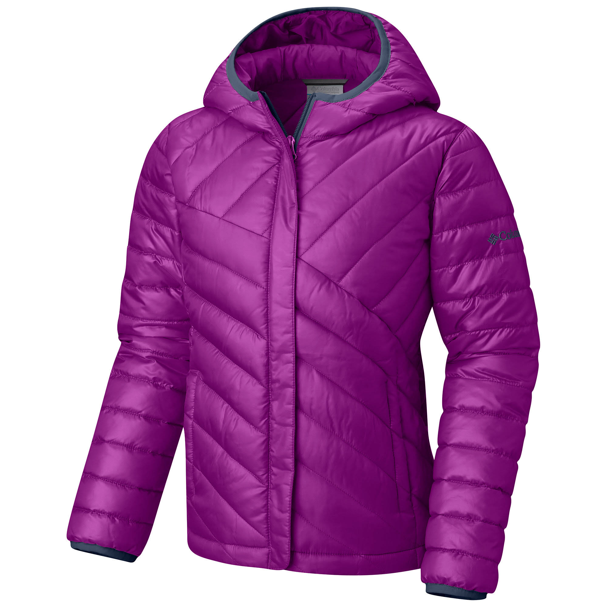Powder Columbia 2t Kleinkind Lila Lite Puffer Pflaume Girls axwqP5v