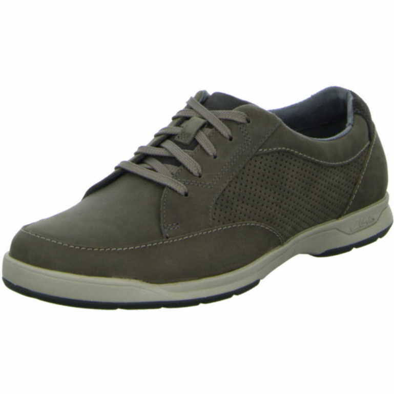 Comfort 11 Heren Grijs Clarks veterschoenen Synthetisch J3F1cuTlK5