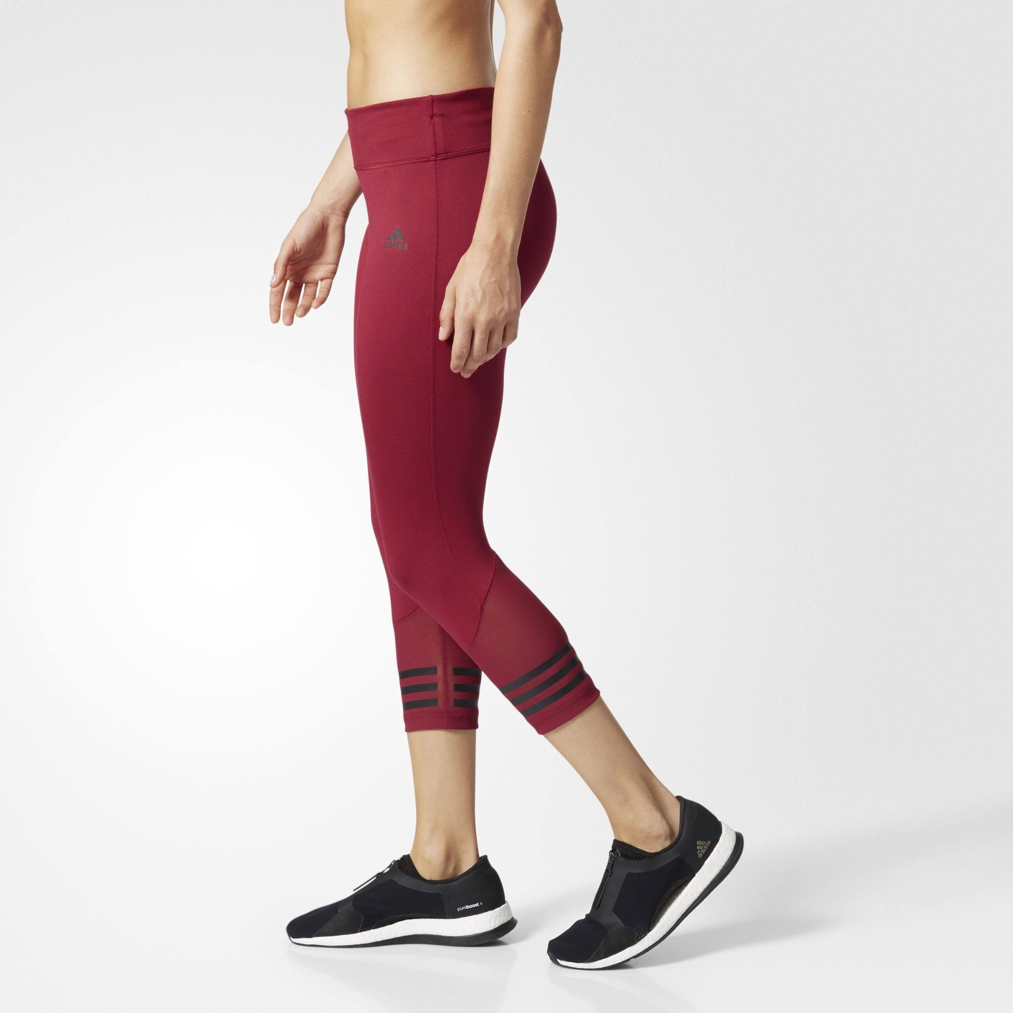 Move Damen Rot 3 Regular 2 S Strumpfhose Adidas Design 4 4qE88x