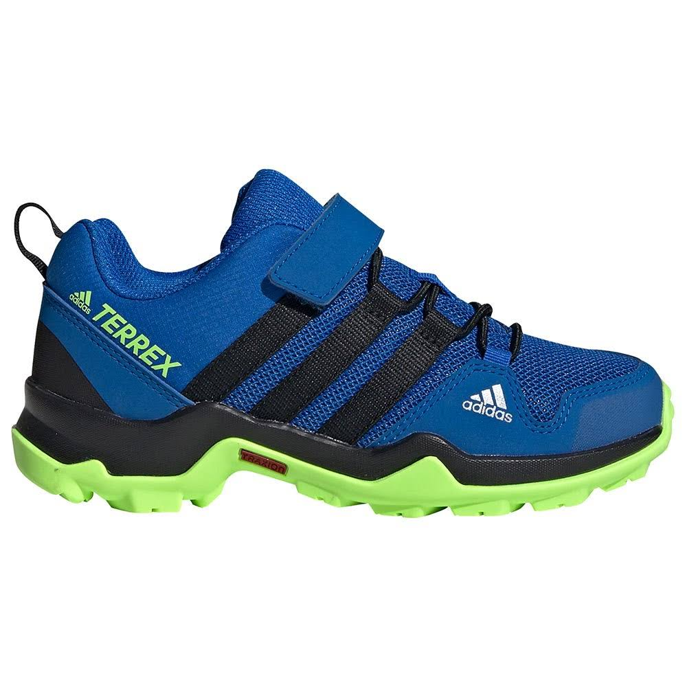 Adidas - Kid`s Terrex AX2R CF - Multisport Shoes Size 28,5, Blue/Green
