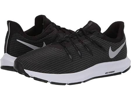Nike Tamaño Quest Hombre Running Zapatillas 4e Negro Plateado Para De 9 pEBw1
