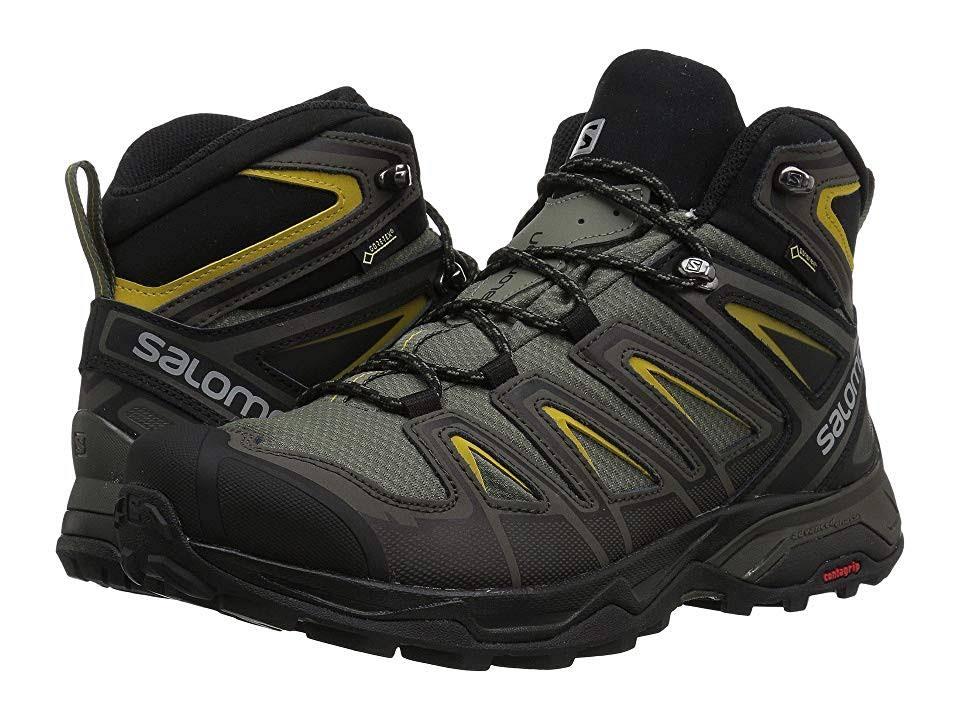 Salomon Ultra Hombre Gtx X 401337 Zapatos Grafito Gris 3 Mid 55n71qr