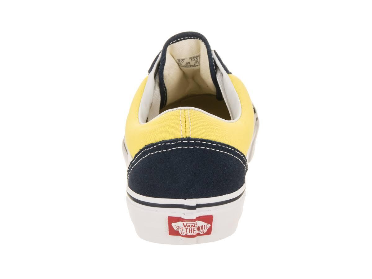 Shoe Old Canvas suede Skool Vans Skate Blue Dress Unisex xYUw66qv