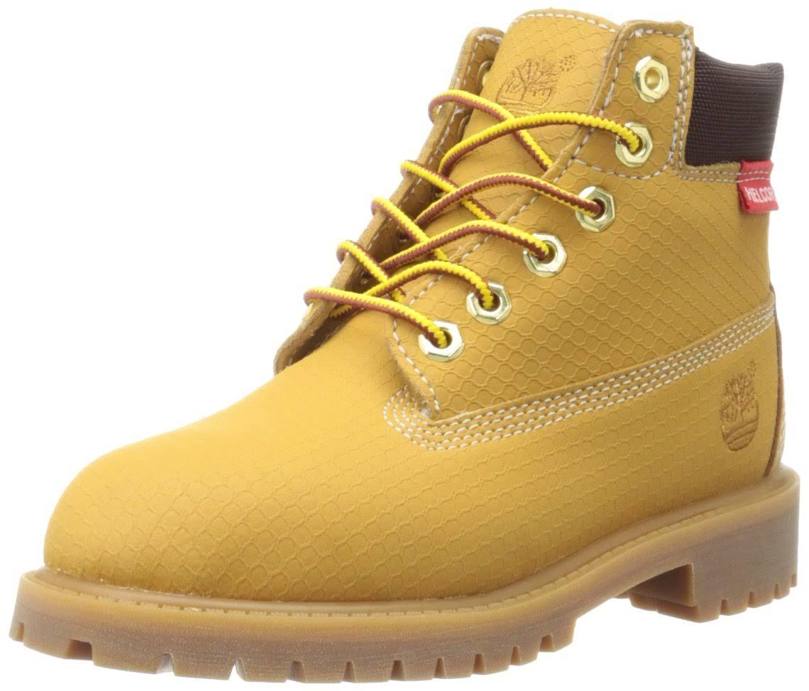 Niño Rebar 6 Scuff Timberland Pequeño Inch Boot Premium Wht Ble Grande niño w1Iw0qda