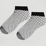 ASOS - Lot de 2 paires de socquettes en résille oversize - Noir