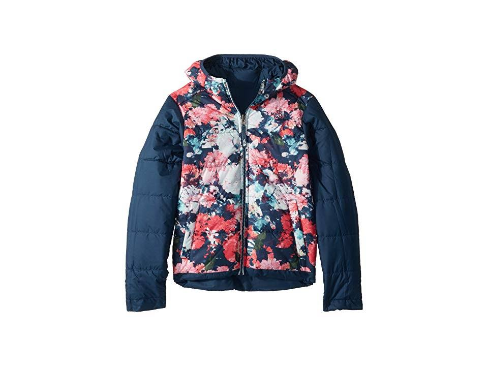 Blue Girls Perrito North Teal Wing Chaqueta The Face Reversible Regular FPqxXYw