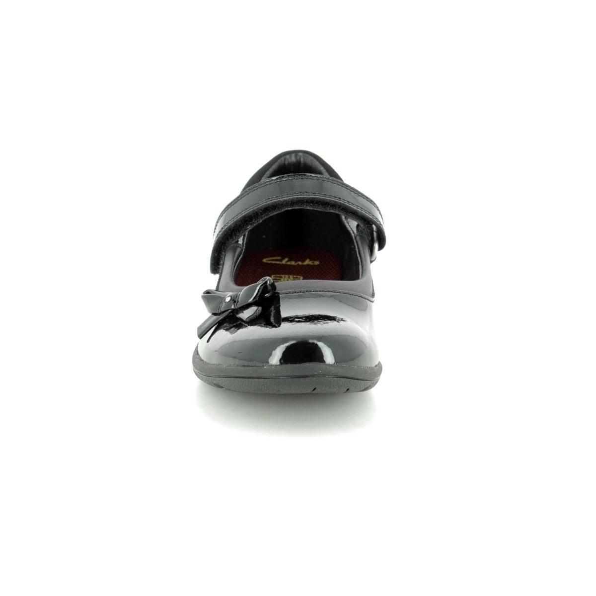 Black Patent Venture Jn School Shoes 3491 Kids 58h Clarks Star tdBhCQrxs