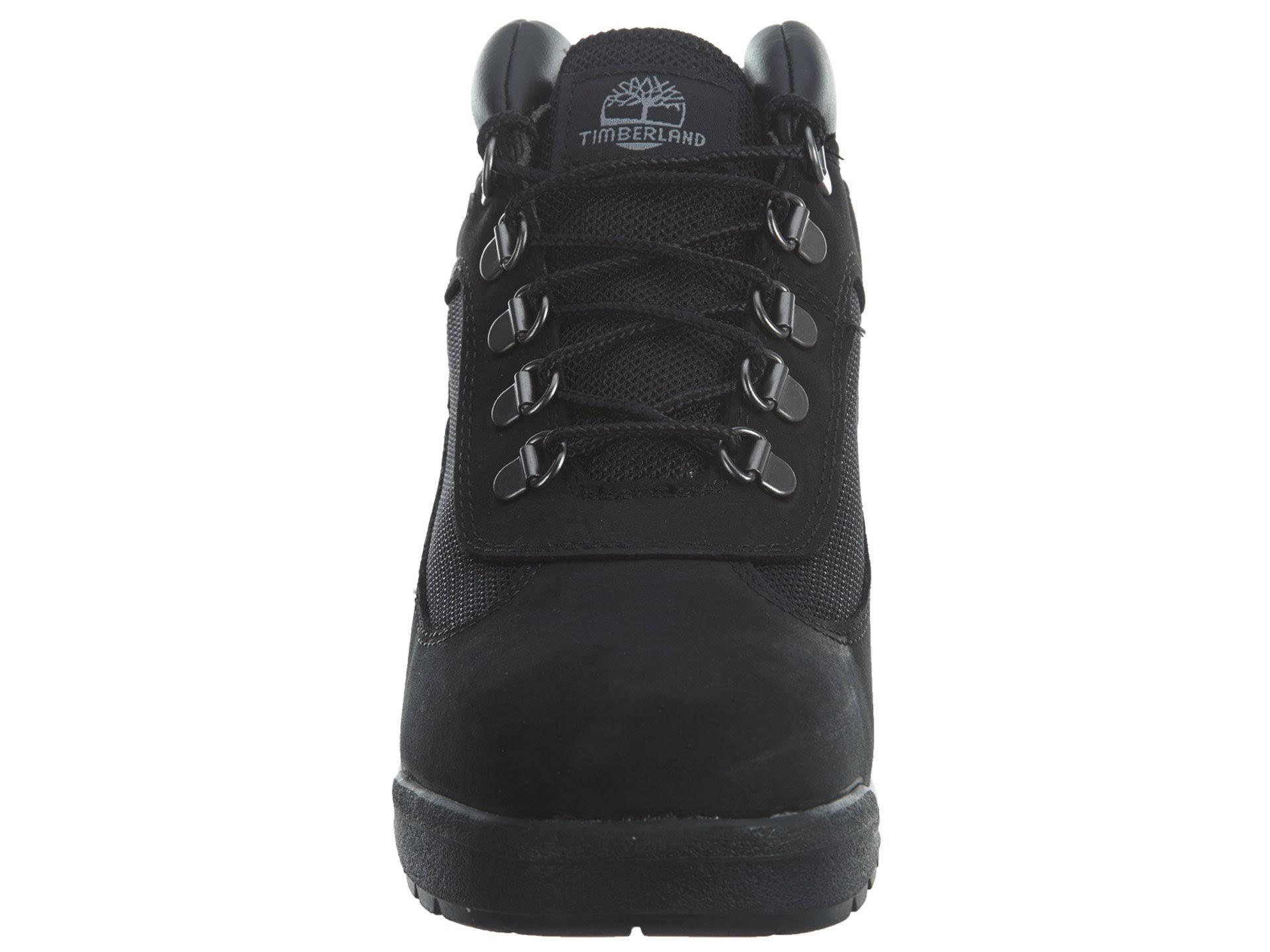 Field School Tamaño Nubuck Grade Boot Negro Mid Tb0a1acd001 Timberland Boys 5 qR4aqd