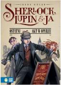 Sherlock Lupin i ja Ostatni akt w operze - Irene Adler - książka