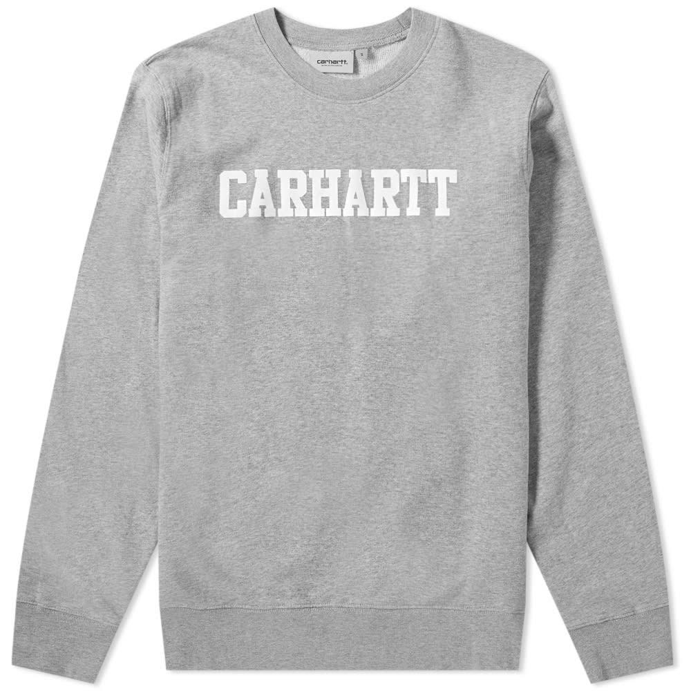Heather Grey Heather Sweat Carhartt Grey Sweat College Carhartt College qqF4wxg81