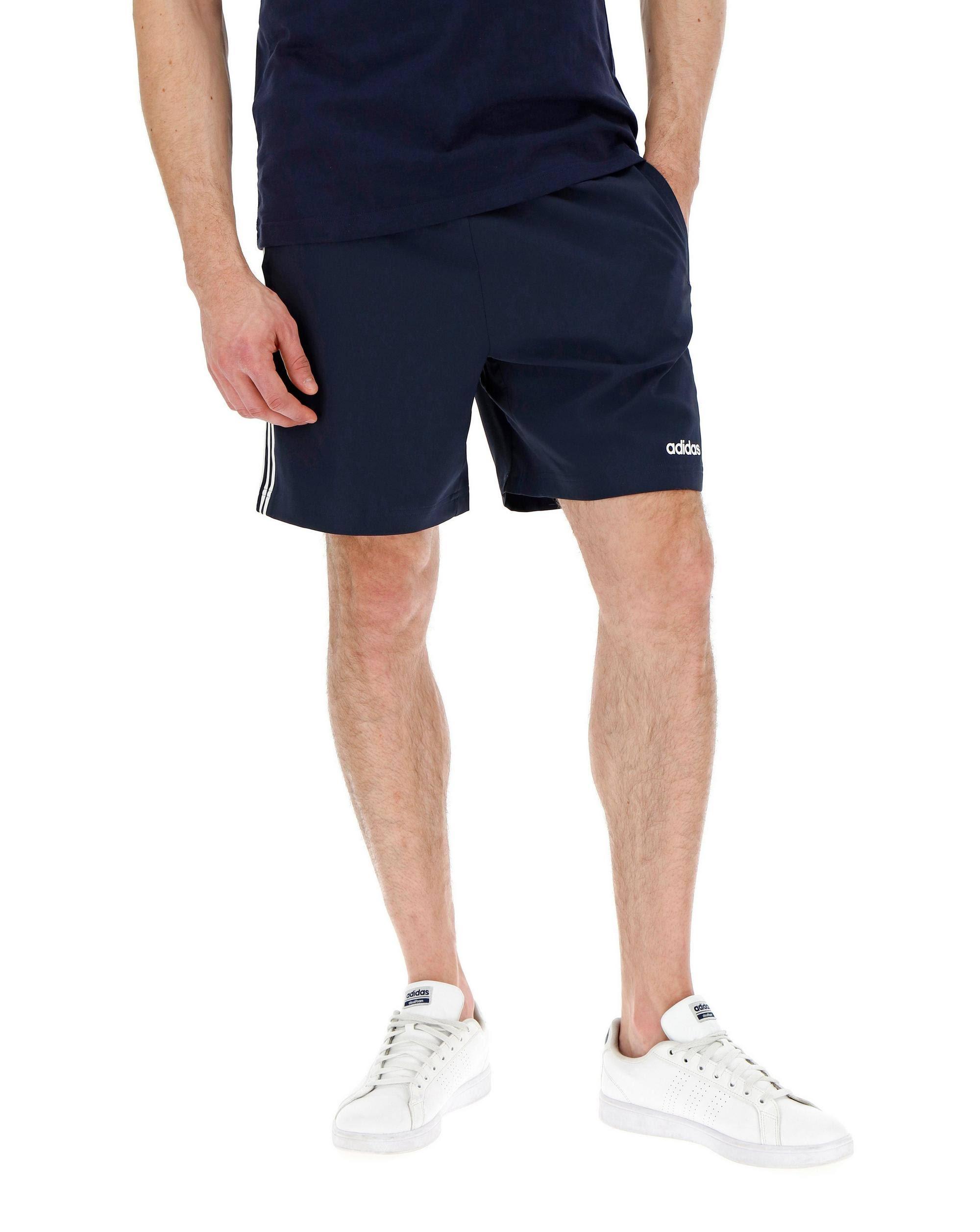 Adidas Essentials 3-Stripes Chelsea Shorts 7 Inch - Blue - Men