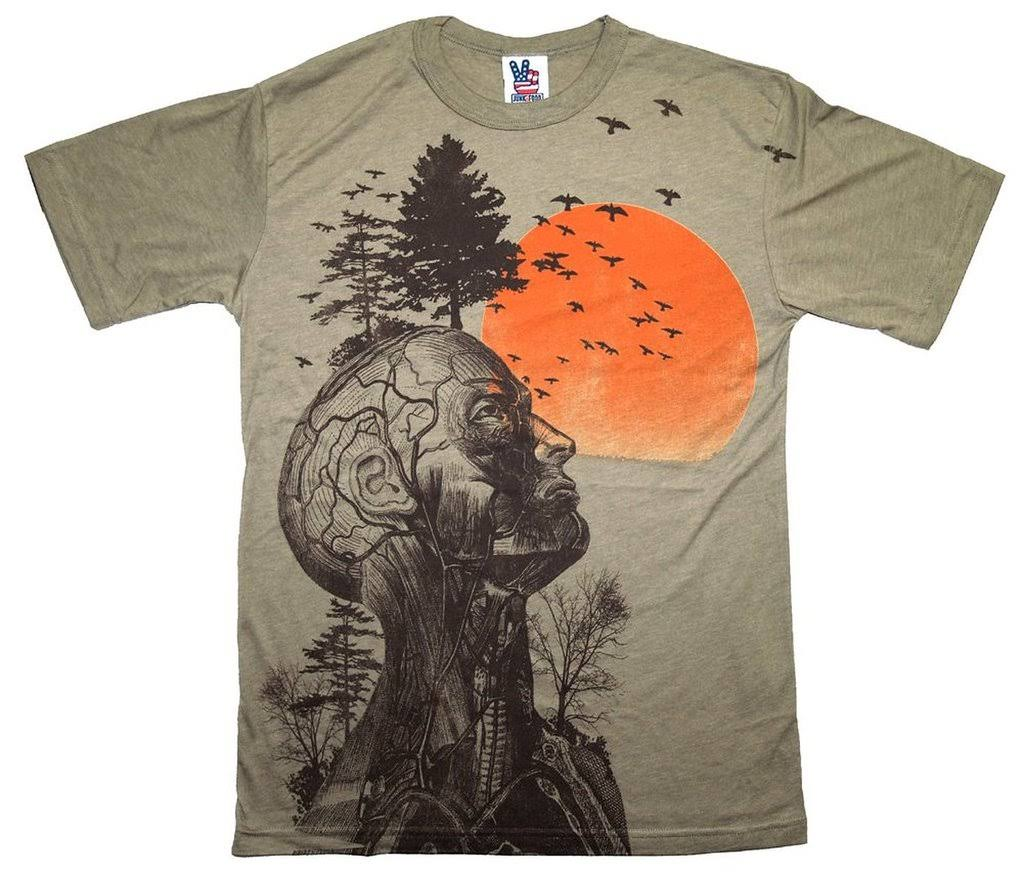 Camiseta The S Oscura Alan Chatarra Tree Human Caqui Hangover Color Comida x6qYB15w