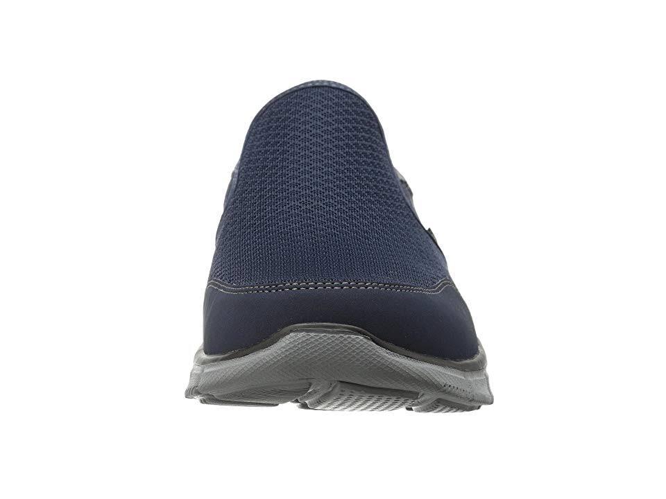 Skechers Multicolor 7 Hombre Gris Equalizer Cordones Azul Persistent Sin Marino Zapatillas Para D 71UEv