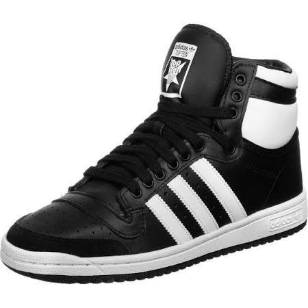 Adidas Top Ten Hi Shoes - Black