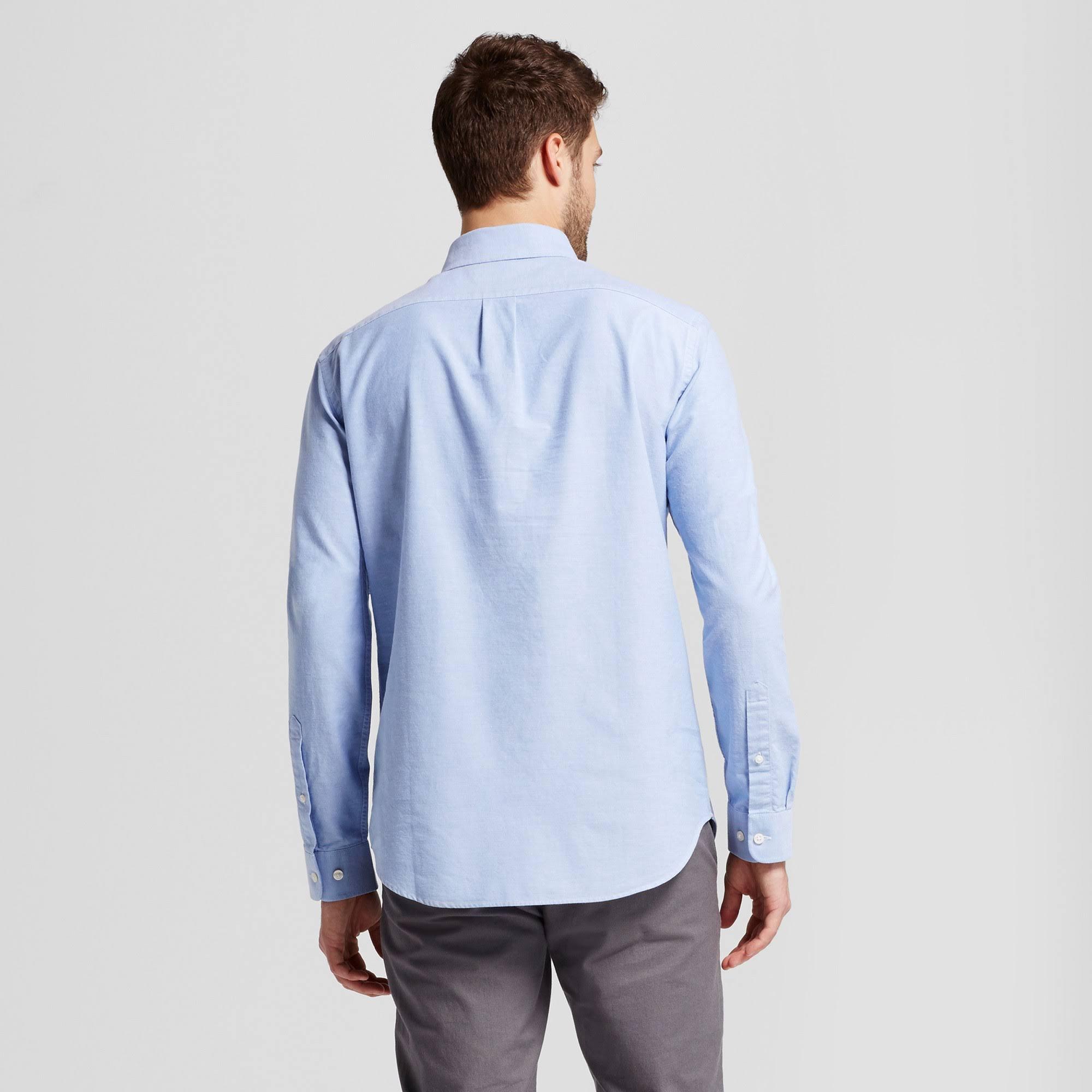 hemd Co Xxl Standard Hellblau Oxford Whittier Fit Goodfellow amp; down Button Herren dwZ4YW7qY