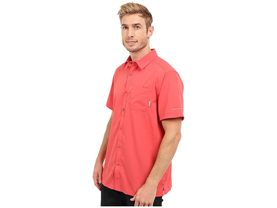 Shirt Für Herren Camp Columbia Red Pfg S Slack Tide Sunset Wwq46Z