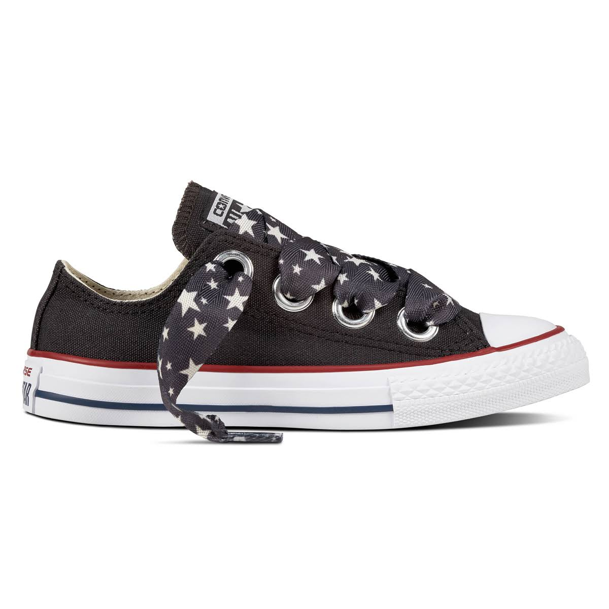 Chuck School Eyelets Star Taylor Converse Ox Kids Casual Big Shoe Pre All d6x1gn
