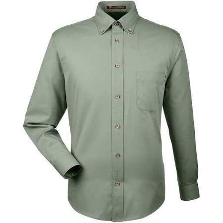 Mit Dill Shirt Fleckenfreigabe Twill M500 Herren Harriton xvq404