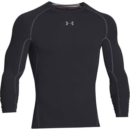 steel Tee Long Black Small Armour Under Compression Sleeve Armor Heatgear gOxTBqf