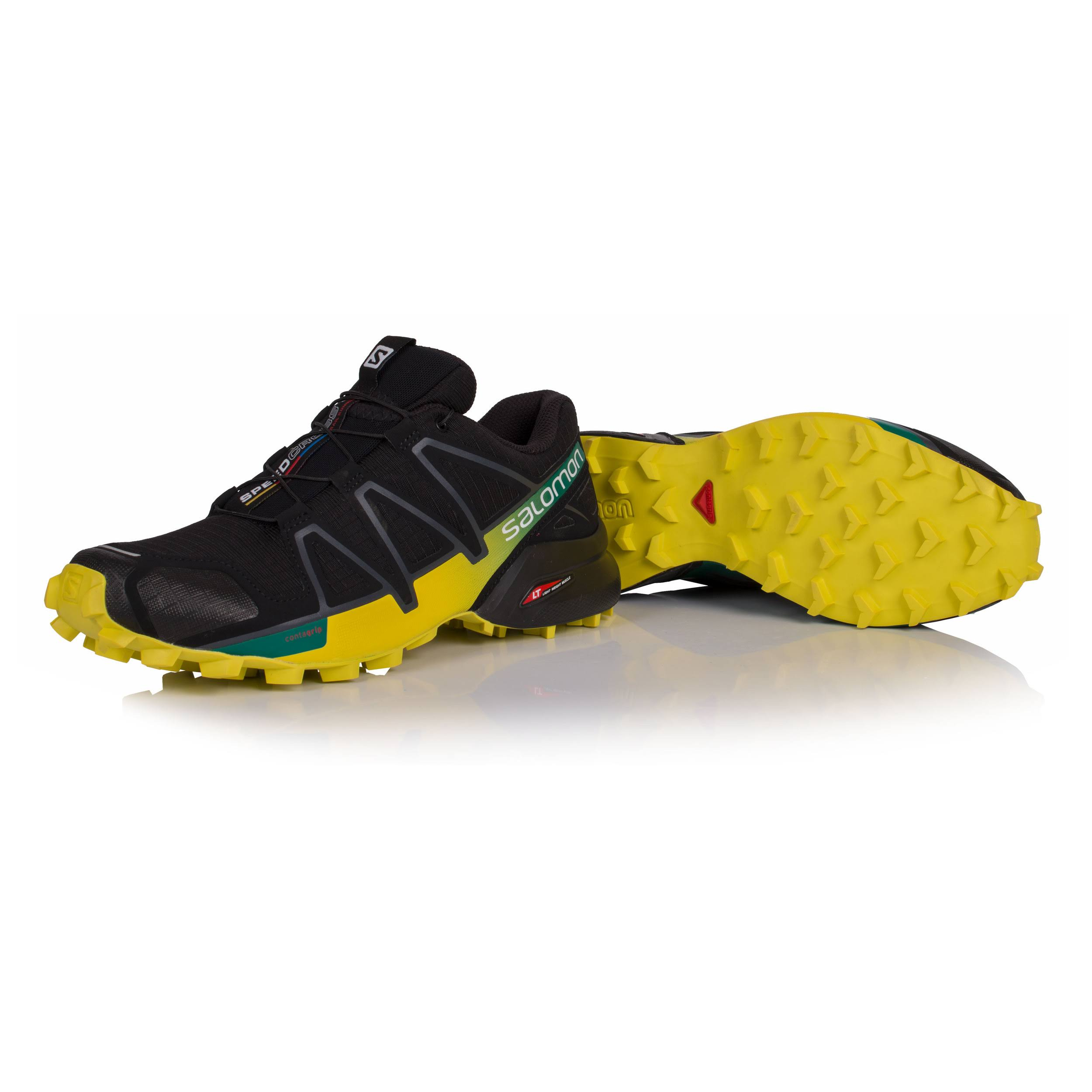 4 Black Salomon Fluorescent everglade sulphur Yellow Spring Black 392398 Speedcross wAq5qg