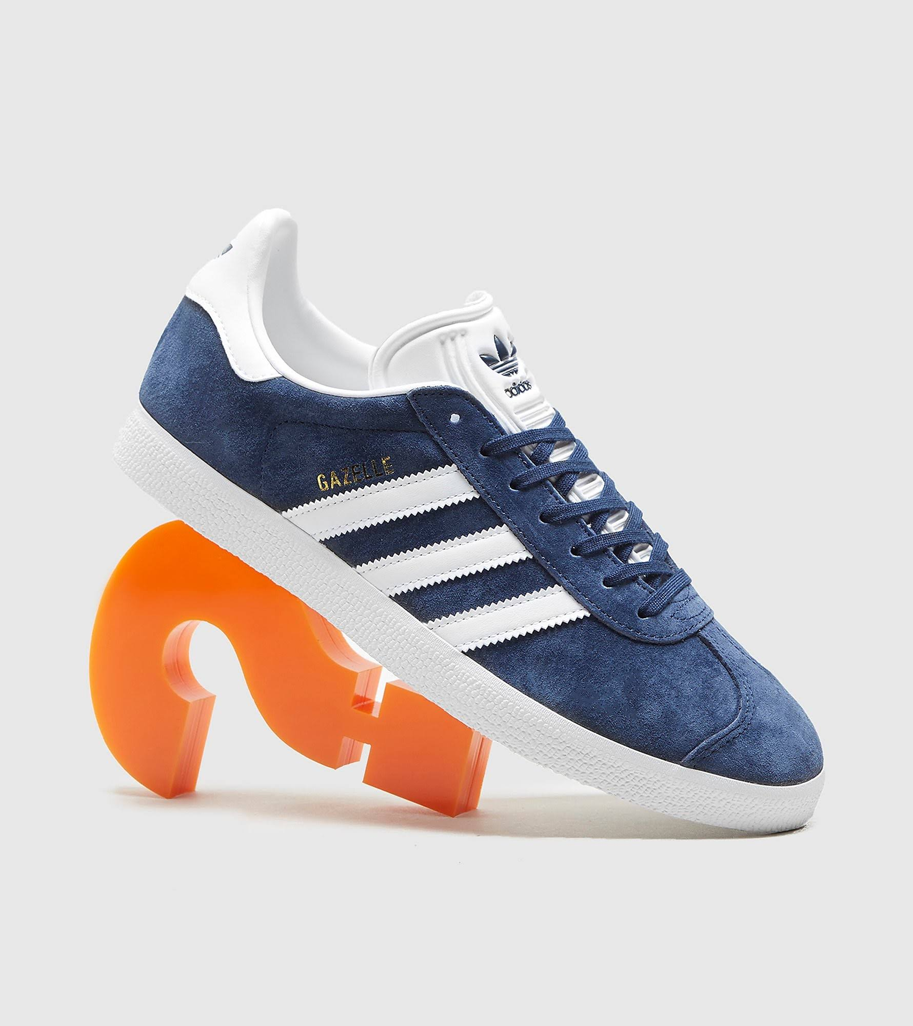 Adidas Originals 'Gazelle' Trainers - Navy