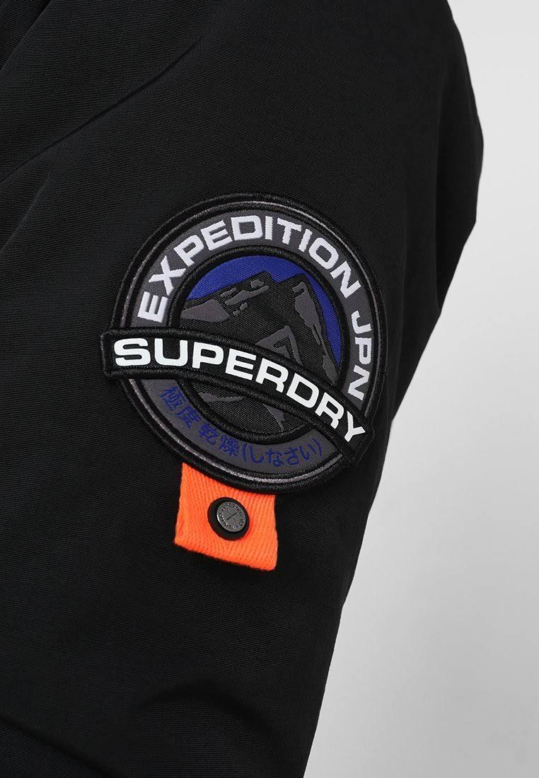 Jacket Superdry Talla Everest Winter Xs Negro Hombre nnErS6