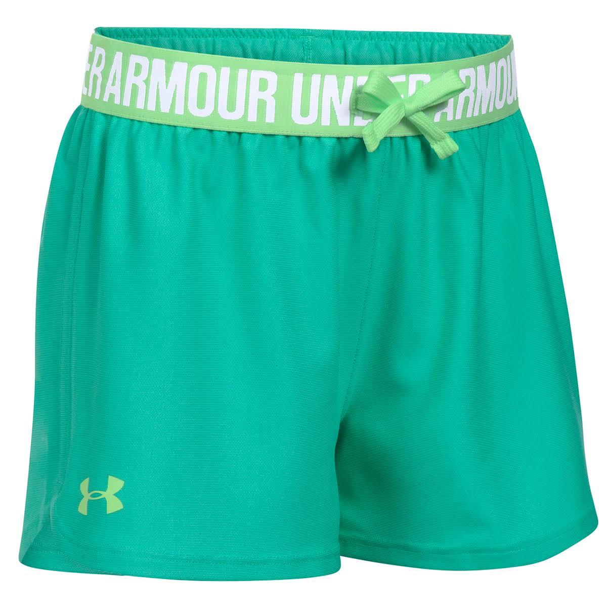 De Play Absinthe Ua Pantalón Up Niñas Para Corto Armour Green Ysm Under 1xIE6B