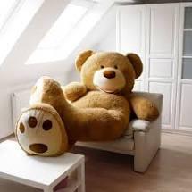 Happy Goldy XXL Teddybär größter Teddy 240cm/26Kg kuschelig weich Valentinstag