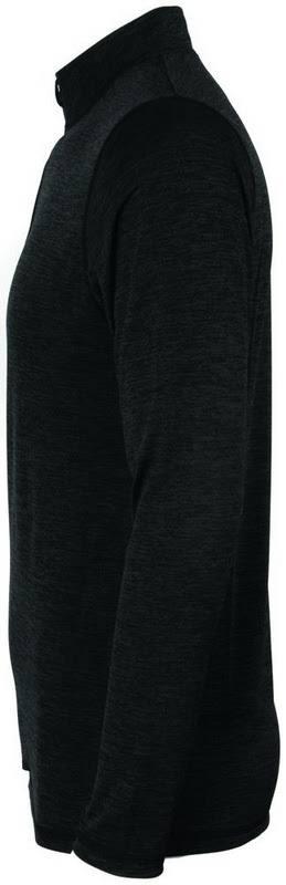 2955 Heather Zip Sportswear Augusta Black 4 1 Intensify PulloverNero2xl E9WD2HI