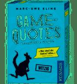 Game of Quotes - Verrückte Zitate (Spiel) - Kosmos Spiele