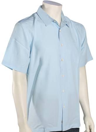 Talla Camisa Corta Waterman Azul Hombres S Island Manga Quiksilver Cane De xzABzrqn1